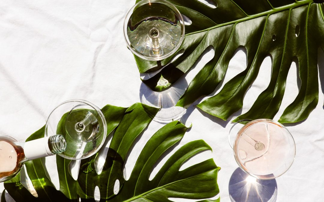 Inred med växtmotiv