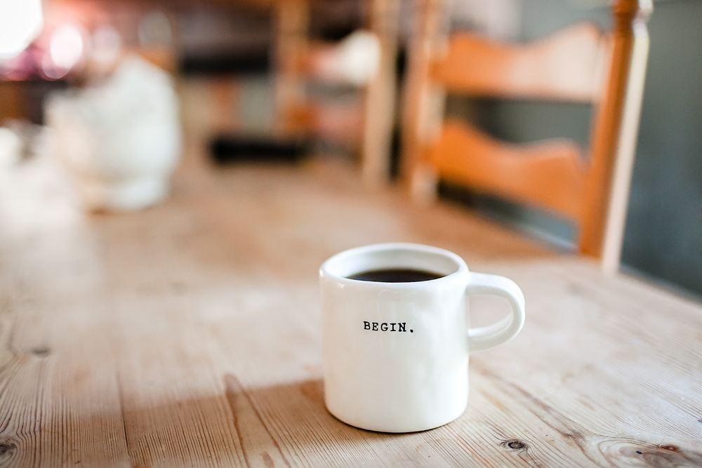En kaffe på jobbet