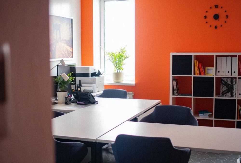 Kontorsstädning för ett bättre kontor